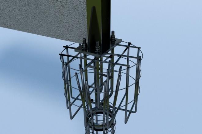 Сделаю для вас визуализацию технической системы 1 - kwork.ru