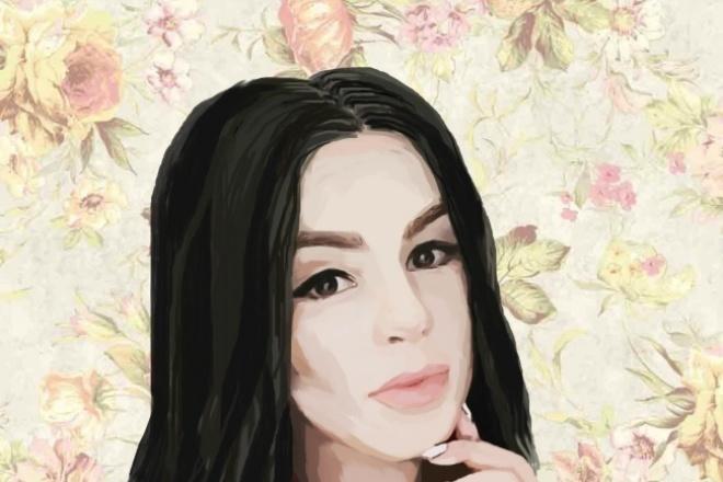 Нарисую цифровой портретИллюстрации и рисунки<br>Нарисую Вас с учетом всех Ваших пожеланий! Могу добавить какие-то элементы ( бантики,рожки, ушки и т.д.)<br>
