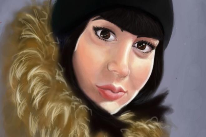 Нарисую цифровой портретИллюстрации и рисунки<br>Приветствую Вас! Нарисую цифровой портрет по Вашей фотографии, и с учетом Ваших пожеланий. В стандартный кворк за 500р входит портрет в цвете либо ч/б (на Ваш выбор) - 1шт.<br>