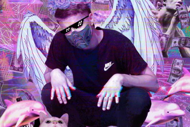 Обработка фото в стиле WebPunk 1 - kwork.ru