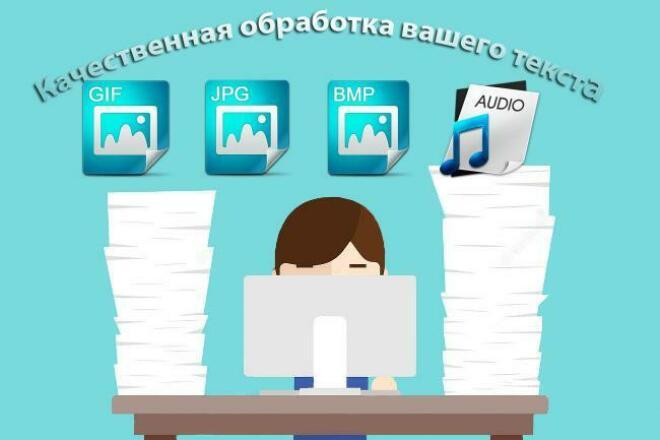 Сделаю текст, а так же аудио перевод быстро и качественно 1 - kwork.ru