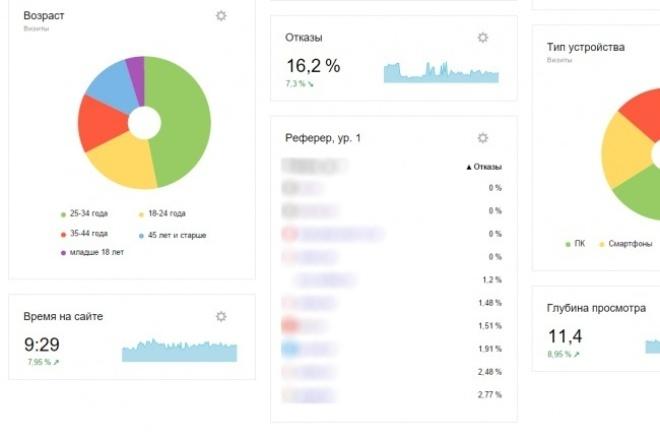 500 уникальных пользователей на Ваш сайт 1 - kwork.ru