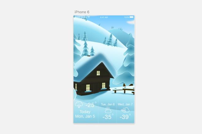Разработаю дизайн современного мобильного приложения IOS и Android 1 - kwork.ru