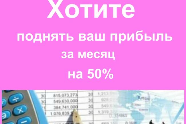 Могу посчитать декомпозицию воронки вашего бизнеса и скину скриншоты 1 - kwork.ru