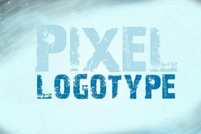 Создам 3 пиксельных логотипа 1 - kwork.ru