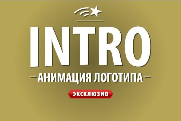 intro для сайта 1 - kwork.ru