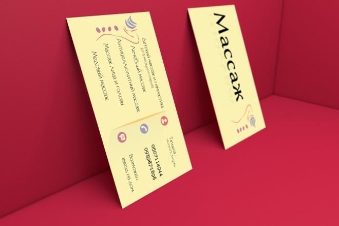 дизайн визитной карточки 1 - kwork.ru