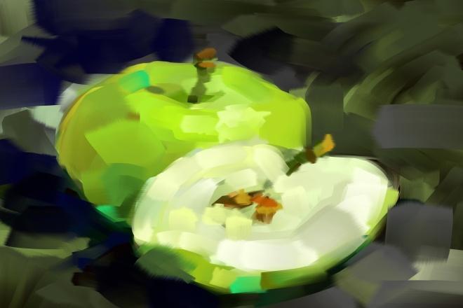 Нарисую оригинальную картину с фруктами Цифровая живопись 1 - kwork.ru