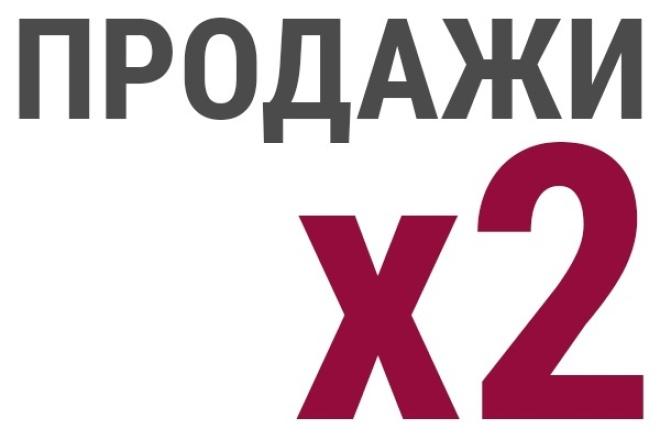 проведу консультацию по увеличению продаж минимум на 20% за 21 день 1 - kwork.ru