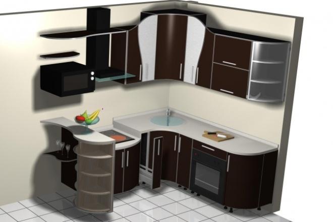 Создам кухню вашей мечты 1 - kwork.ru