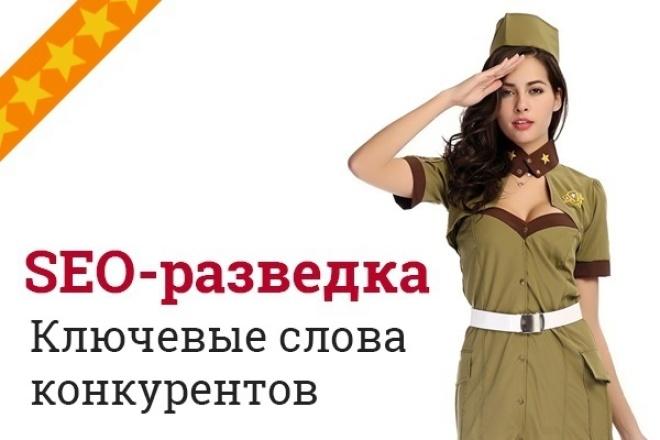 Узнавайте Ключевые слова конкурентов первыми 1 - kwork.ru