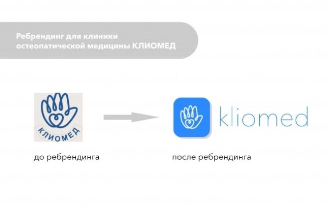 Сделаю 2 варианта редизайна логотипа 1 - kwork.ru
