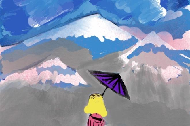 Рисую обложки книг и просто красивые иллюстрации 1 - kwork.ru
