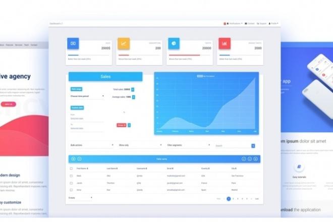 Адаптивный дизайн BootstrapВеб-дизайн<br>Хотите чтобы ваш сайт одинаково красиво выглядел на всех устройствах? - Тогда вы зашли по адресу! Я предлагаю вам присоединиться к миллионной аудитории Bootstrap и вдохнуть новую жизнь в ваш проект!<br>