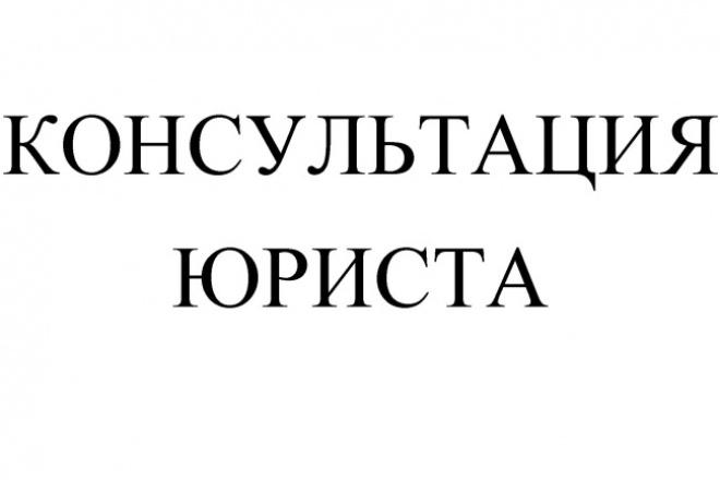 Срочная юридическая консультация 1 - kwork.ru