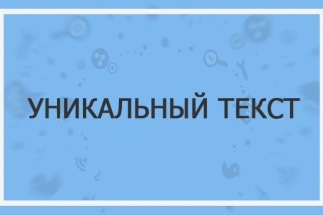 Заполню ваш сайт уникальным контентом. Работаю с любой информацией 1 - kwork.ru