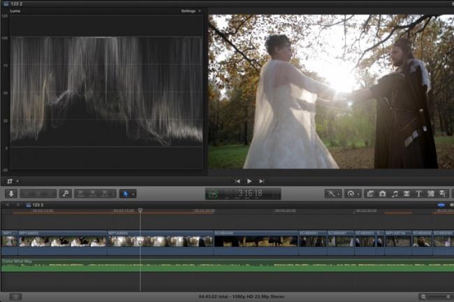 Сделаю свадебный видеомонтаж 1 - kwork.ru