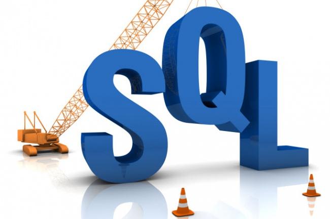 Напишу или подправлю SQL запрос для MySQL или mssqlАдминистрирование и настройка<br>Напишу или подправлю один сложный запрос (объем до 1000 знаков) или четыре небольших (объемом до 250 знаков). При необходимости дополню комментариями и пояснениями. Срок стоит с учетом выходных и праздников (из-за обязательства по лицензионному соглашению). По факту, задачи выполняю быстрее. График ненормированный.<br>