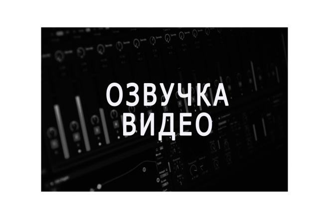 Озвучу видео intro outro. Видео для YouTube 1 - kwork.ru