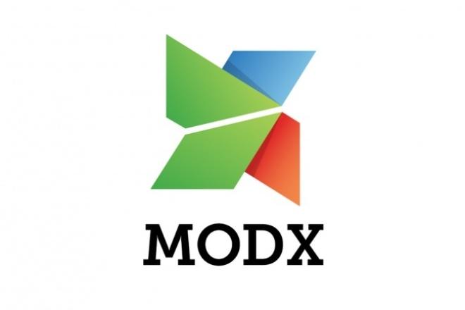 Доработаю сайт на modx Revolution 1 - kwork.ru