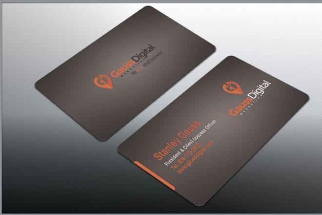 Сделаю хорошую визитную карточку 1 - kwork.ru