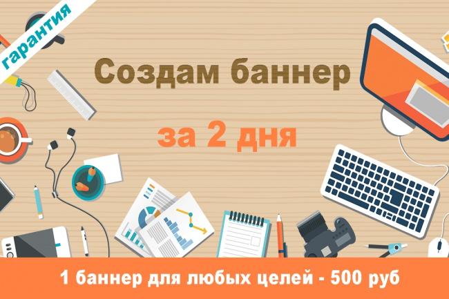 Сделаю баннер 1 - kwork.ru