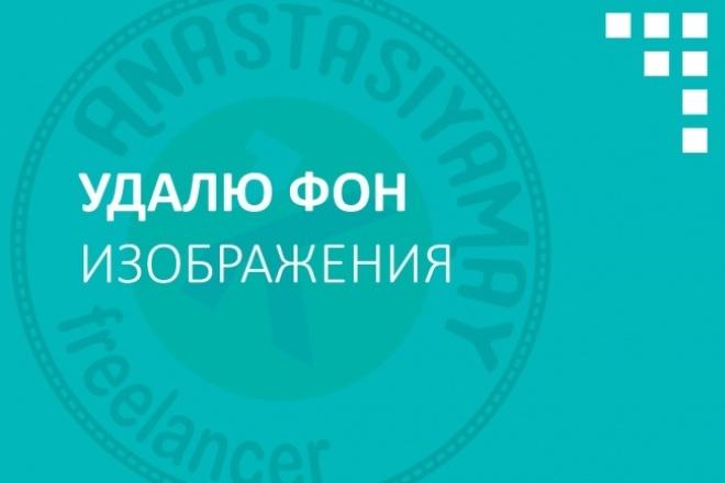 Удалю фон изображения 1 - kwork.ru