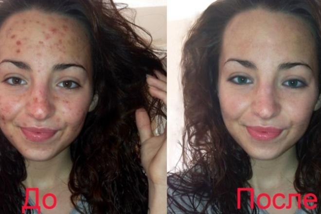 Ретушь фотоОбработка изображений<br>Сделаю ретушь ваших фотографий: 1) Настройка цветового баланса 2) Коррекция кожи (уберу угри, прыщи и другие дефекты), эффект бархатистой кожи 3) Цветовой макияж 4) Смена цвета глаз, волос<br>