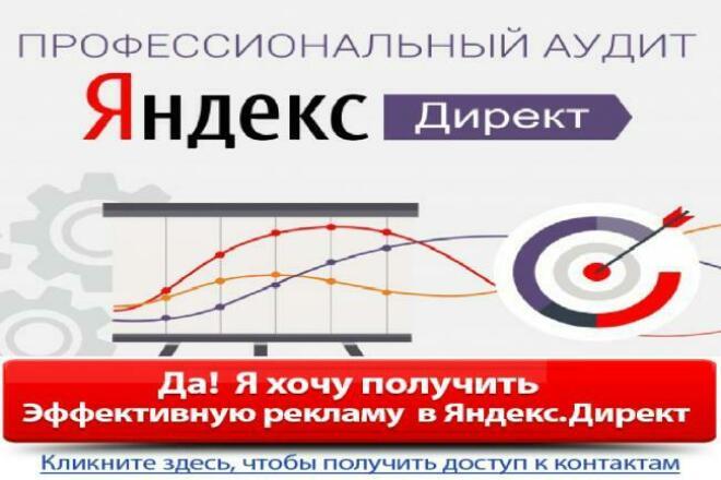 Аудит рекламной кампании в Яндекс Директ 1 - kwork.ru
