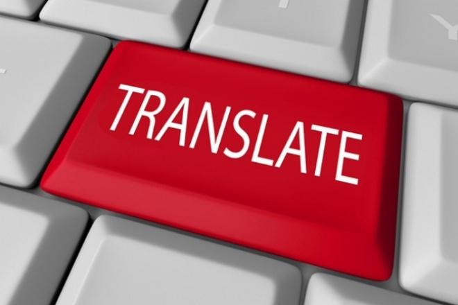 сделаю перевод с китайского на русский язык 1 - kwork.ru