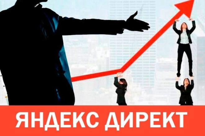 Профессиональное создание компании в Яндекс Директ, РСЯ 1 - kwork.ru