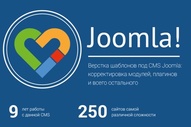 Корректировка и создание сайтов на CMS Joomla 1 - kwork.ru