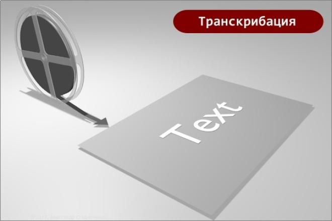 Транскрибация - перевод 120 минут аудио в текст 1 - kwork.ru