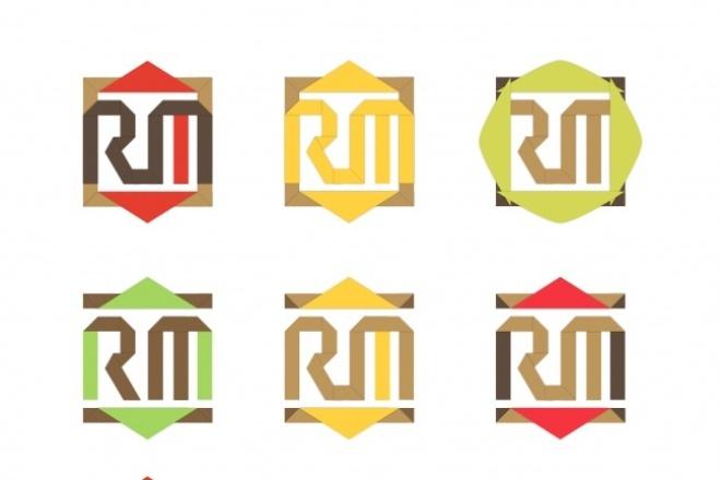 Дизайн логотипа + визуализацияЛоготипы<br>Нарисую для вас 3 оригинальных варианта логотипа в векторе и покажу, как он будет выглядеть на готовой продукции.<br>