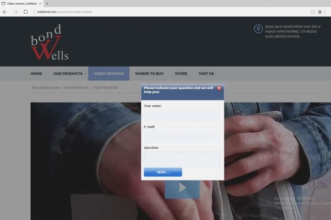 Установлю англоязычную форму обратного звонка на Ваш сайт 1 - kwork.ru