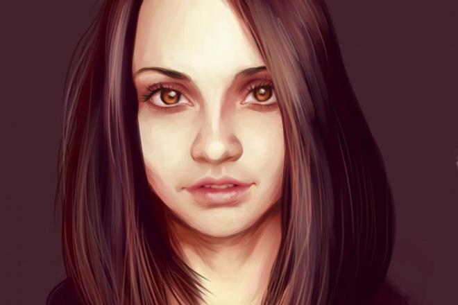 Нарисую портрет в CGИллюстрации и рисунки<br>С удовольствием нарисую для вас цифровой портрет(не шарж!) по фотографии, который впоследствии можно будет не только скинуть картинкой, но и распечатать. Не фотобаш, оригинальная работа с нуля. Занимаюсь портретами примерно 1,5-2 года, максимальное возможное качество и вложение души в работу гарантирую! :)<br>