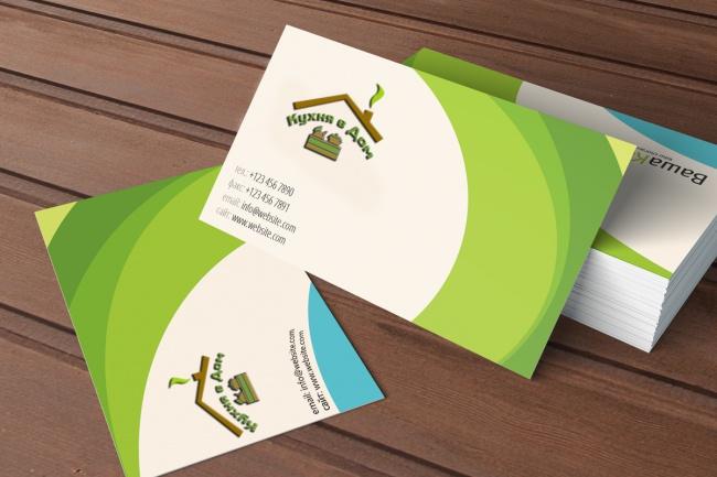 Предоставлю Вам макет вашей визитной карточки 1 - kwork.ru