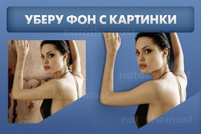 Уберу фон с картинки 1 - kwork.ru
