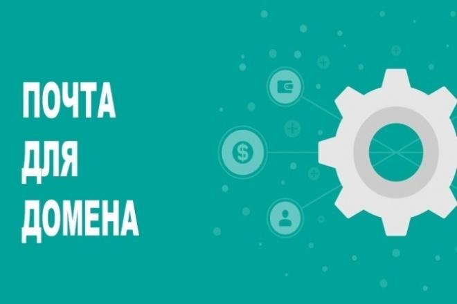 Подключу Яндекс Почту для работы с вашим доменом 1 - kwork.ru