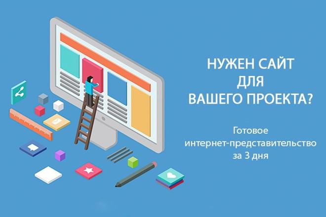 Создам сайт для Вашего проекта 1 - kwork.ru