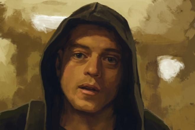 Сделаю CG портрет в живописном стиле 1 - kwork.ru