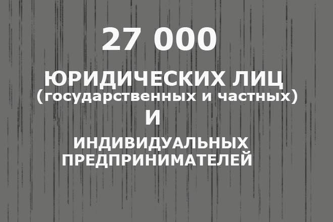 База юридических лиц, частных предприятий и ИП по Белоруссии 1 - kwork.ru