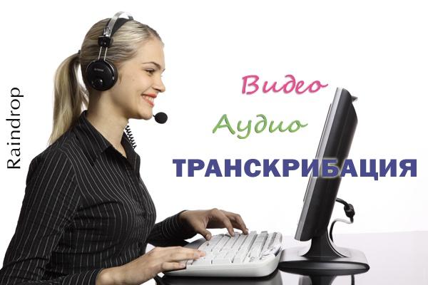 Профессионально сделаю транскрибацию (расшифровку) любого аудио и видео в текст 1 - kwork.ru