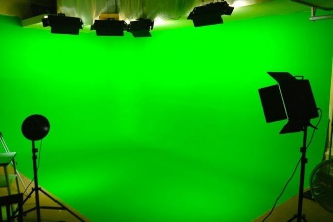 Замена зеленого фонаМонтаж и обработка видео<br>Вы предоставляете свое видео на зеленом(синем) фоне, а также видео или фото на которые нужно заменить фон.<br>