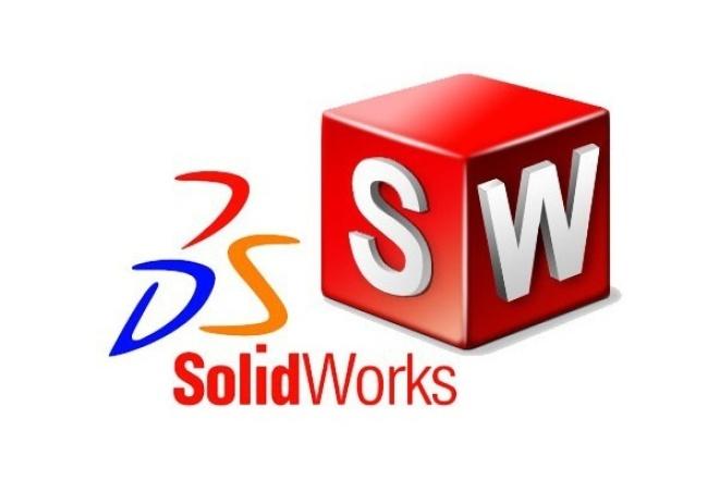проектирование в SolidWorks 1 - kwork.ru