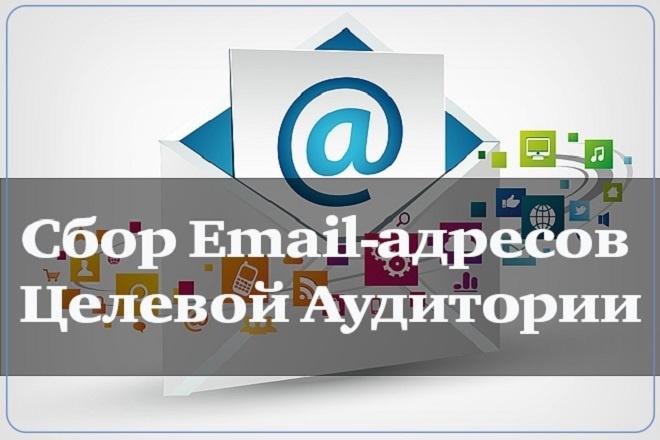 Соберу базу 5.000 email адресов, вашей ЦА 1 - kwork.ru