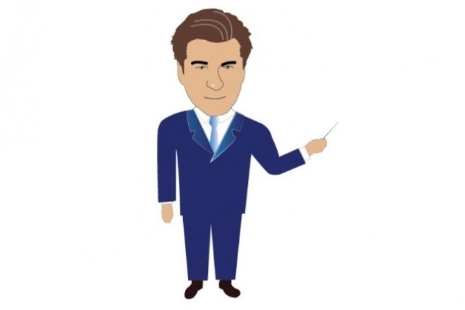 Создам 2D-персонажИллюстрации и рисунки<br>Персонажи на все случаи жизни! Позитивный 2D-оператор колл-центра будет улыбаться с вашего сайта и вселять доверие в клиентов без перекуров и перерывов на обед! Весёлые или грустные, комичные или серьёзные, 2D-персонажи по вашему ТЗ<br>