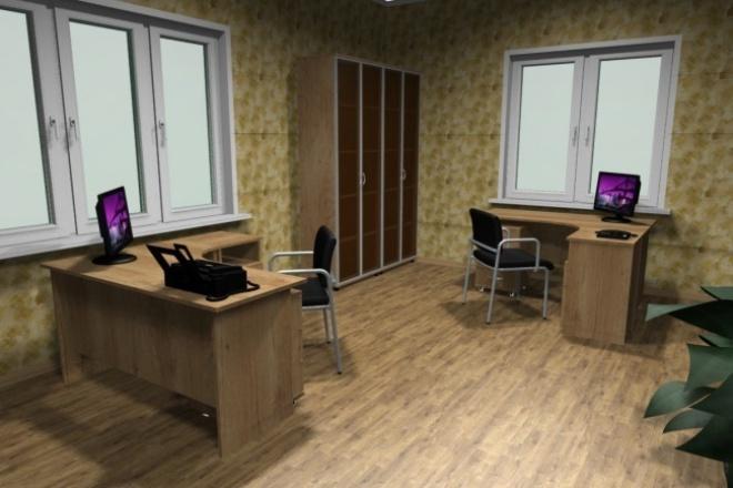 Дизайн интерьера в PRO100 1 - kwork.ru