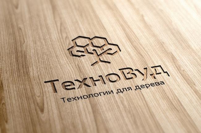 Визуализация вашего логотипа на разных носителях 1 - kwork.ru