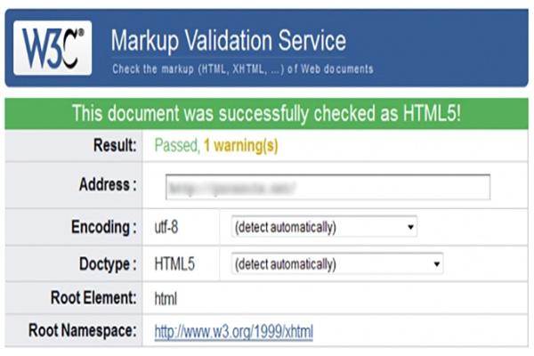 Исправлю ошибки валидации сайта по стандарту W3C 1 - kwork.ru